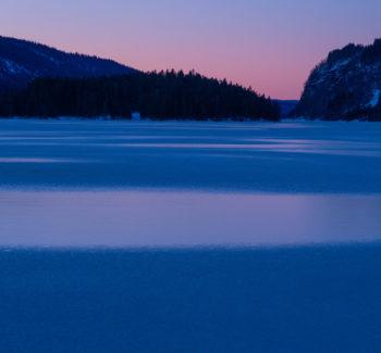 Lygne om vinteren. Foto: Lars Verket